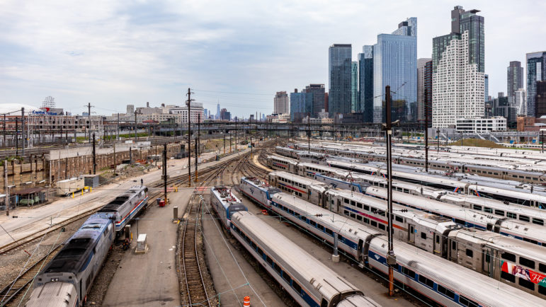 Image of Sunnyside Yards with LIC Super talls looming in the background.