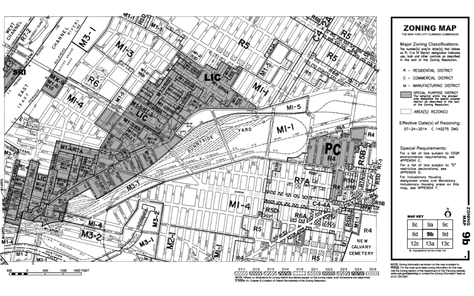 Planning Map of LIC. Decorative purposes. Also on front page of report.